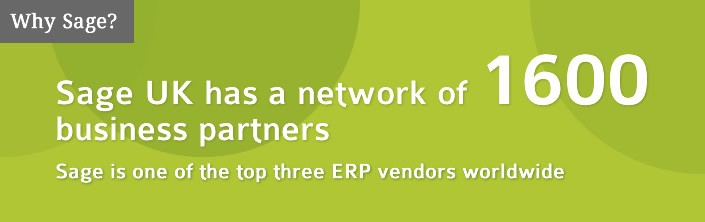 Sage network contains 1600 Business Partners