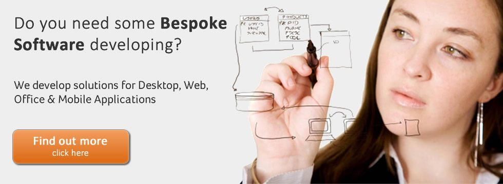 Bespoke Software Development Banner