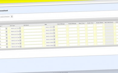 Custom CMS Solution 2 Web Print Screen