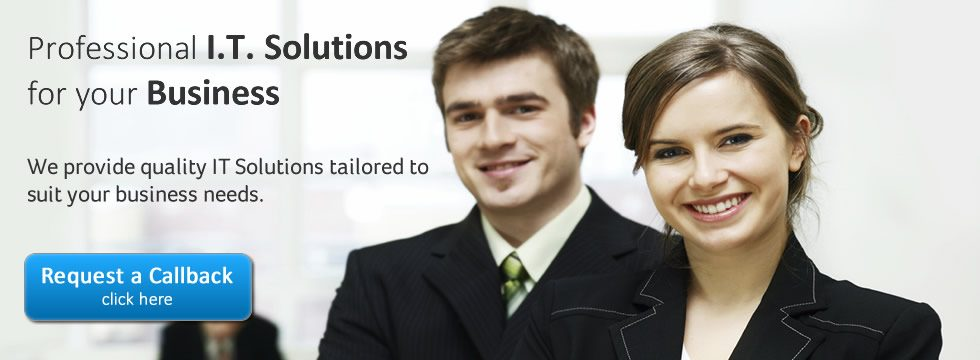 IT Solutions for Buiness Banner