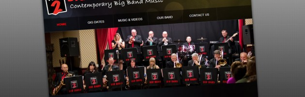 Take 2 Big Band Web Print Screen