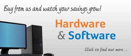 IT Hardware & Software Banner
